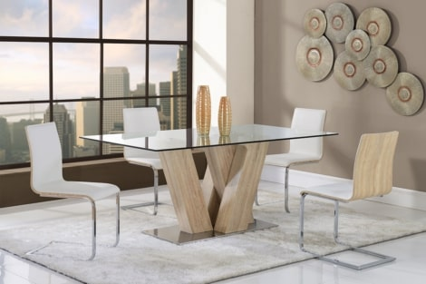 Western Collection Dining Table And, Western Dining Room Chairs